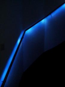 Leuning met ledverlichting