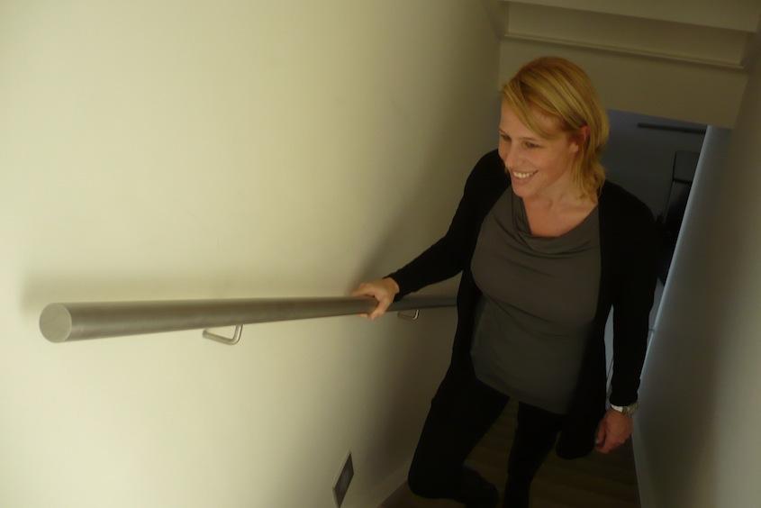 Roestvrijstalen leuningen amsterdam trapleuning op maattrapleuning op maat - Houten trap monteer ...