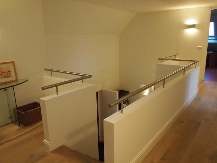 Balustrade vide trapleuning op maattrapleuning op maat for Balustrade trap