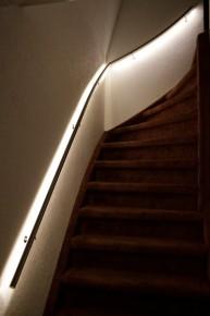 Beautiful Trapleuning Met Led Verlichting Praxis Contemporary - Huis ...